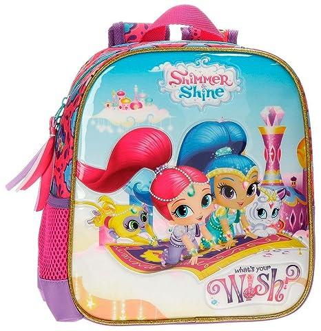 Shimmer and Shine 20320B1 Wish Mochila Infantil, 25 cm, 5.75 Litros, Multicolor