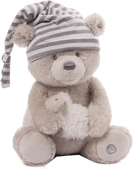 Animated Baby Gund Goodnight Prayer Bear