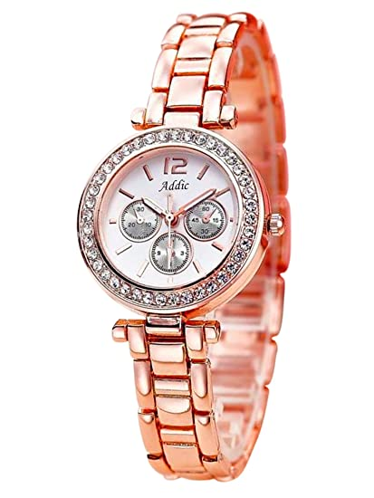 627a4589366 Buy Addic Mark of Royalty Analog White Dial Women s Watch - AddicWW310  Online at Low Prices in India - Amazon.in