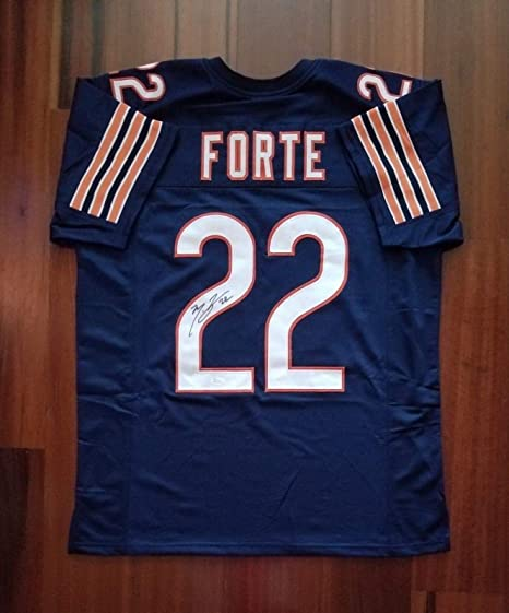 Image Unavailable. Image not available for. Color  Matt Forte Signed Jersey  - JSA ... 7601c7342
