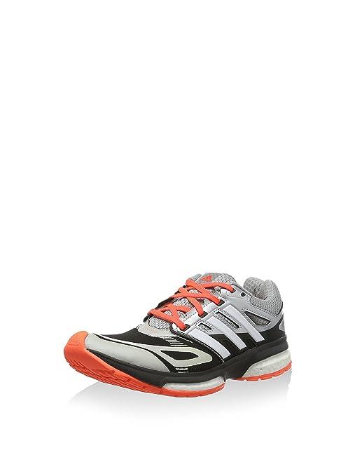buy online 51612 ff229 adidas Scarpa da Running Response Boost Techfit J Grigio Arancione EU 36  (UK 3.5
