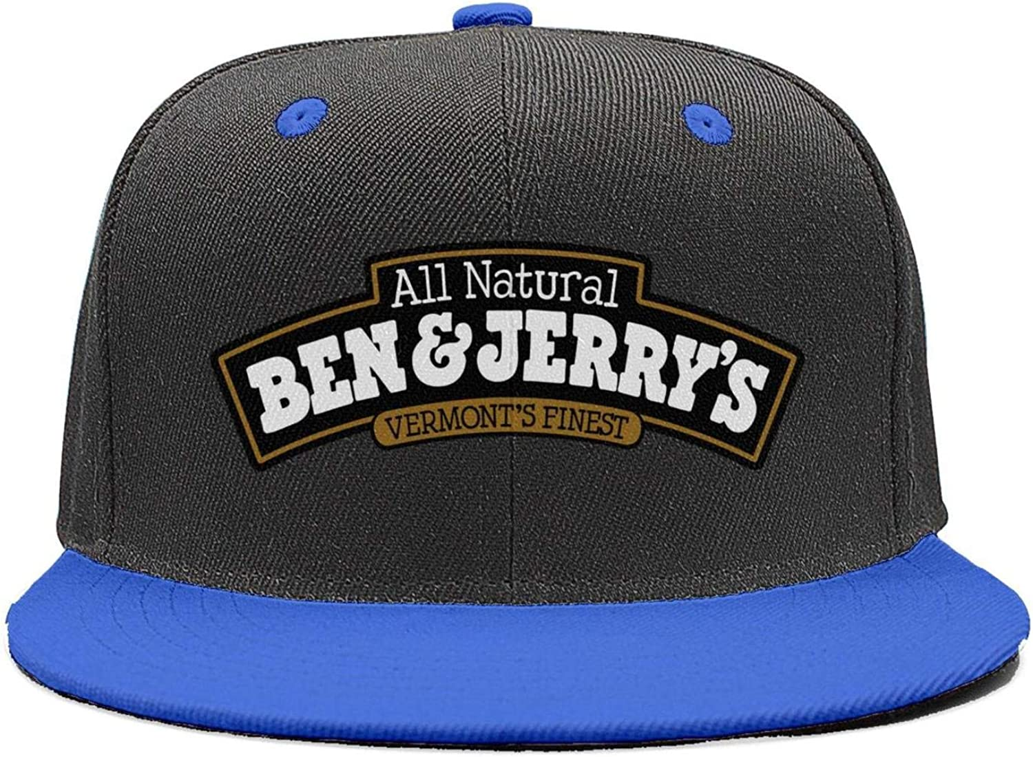 Unisex Cool Cap Flat Casual-Ben-Funny-/&-Jerry/'S-Snapback Cotton Hat Superlite