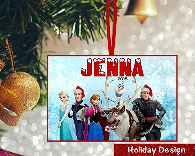 Amazon Com Personalized Frozen Ornament Frozen Personalized
