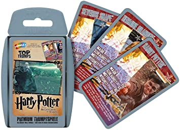 Winning Moves Top Trumps Harry Potter y Las Reliquias de la ...