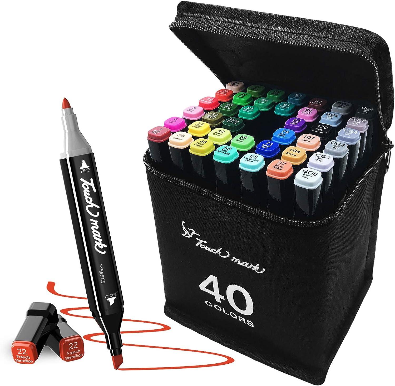 50% Off Coupon – 40 Colors Marker Pens Set