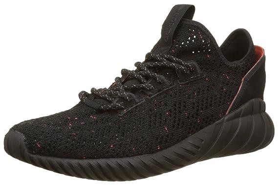 5b10e11ca24 Amazon.com  Adidas Tubular Doom Sock Primeknit Mens Sneakers Black ...