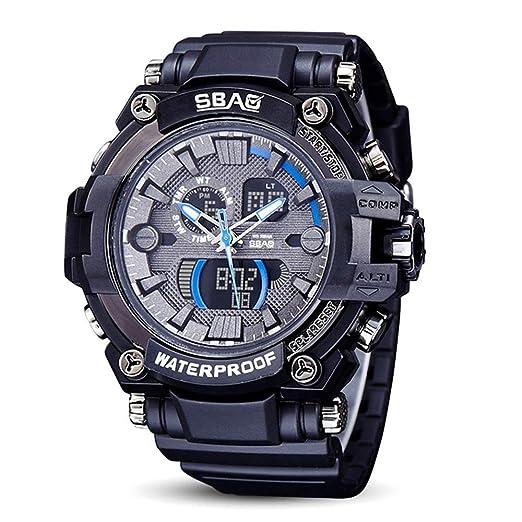 HWCOO SBAO Relojes Los nuevos Muchachos Impermeables creativos de Gama Alta del Reloj electrónico se divierten
