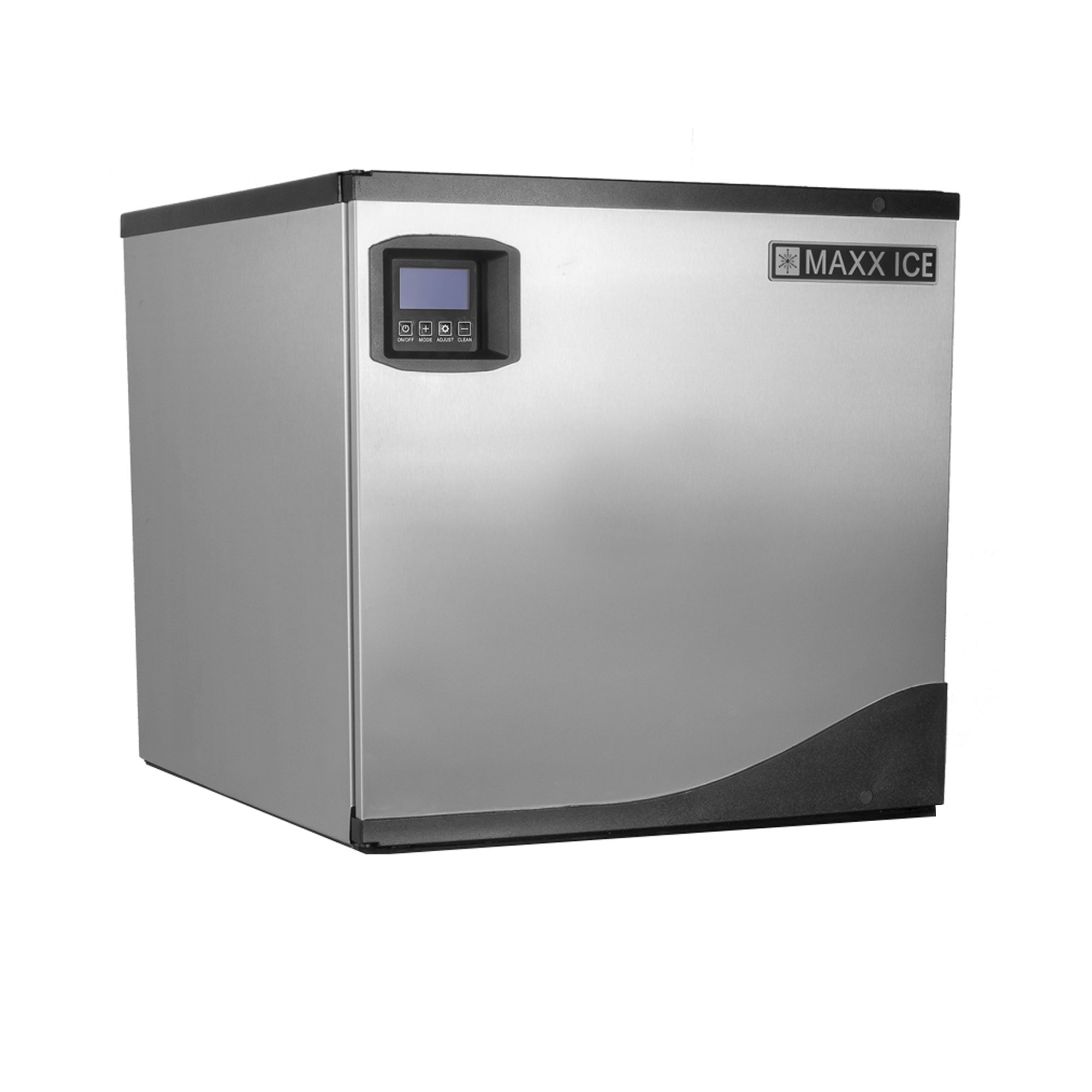 Maxx Ice MIM360NH 22'' Modular Clear Ice Maker Cuber - 360lb Per Day Half Dice - NEW GENERATION