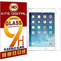 Kite Digital Compatible with IPAD AIR/IPAD AIR2 /IPAD PRO (9.7 INCH) Premium Tempered Glass Screen Protector Slim 9H Hard 2.5D