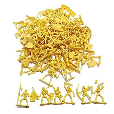 100 Piece Army Skeleton Warriors Ready to Take Over!: Toys & Games