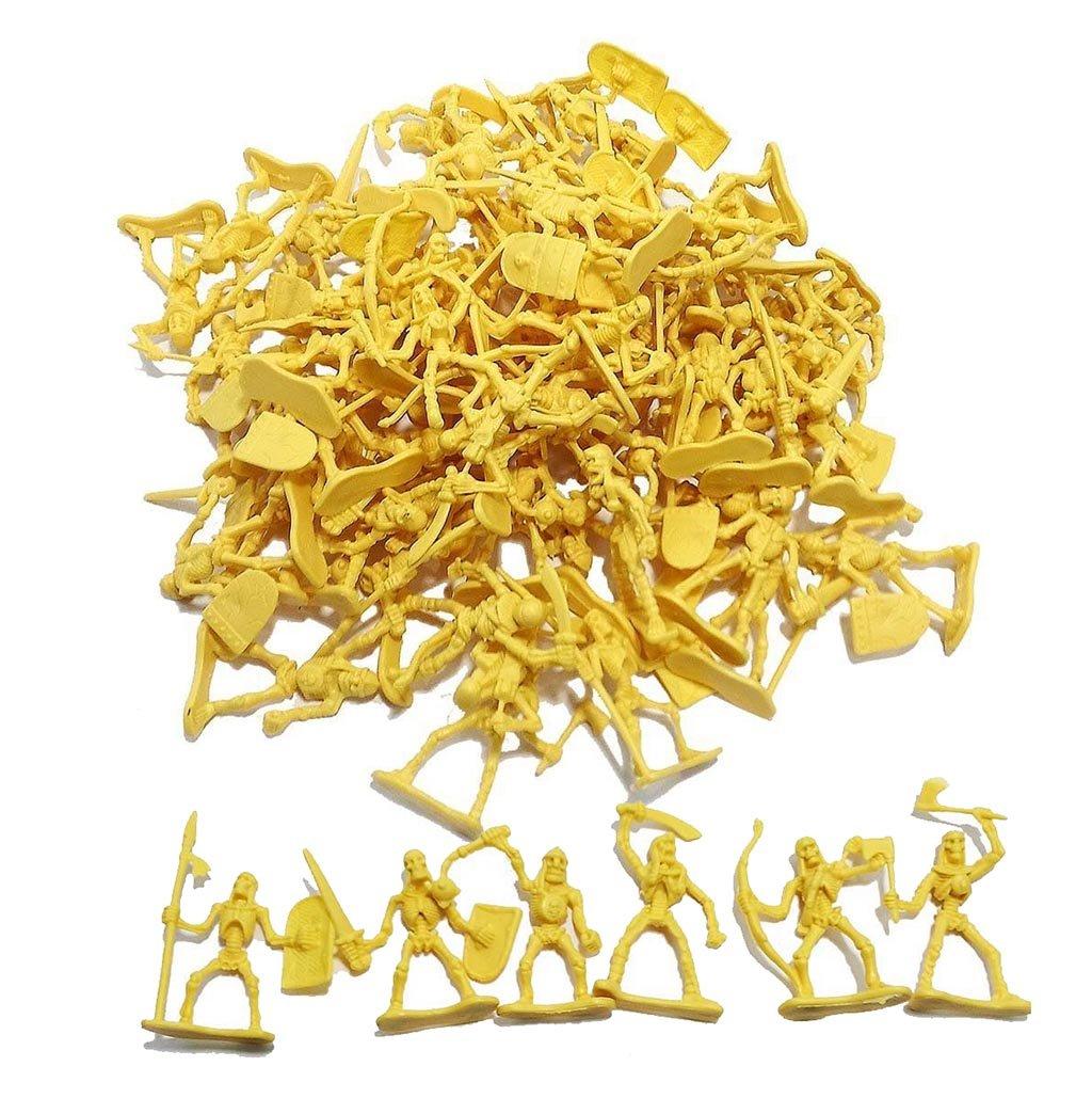 100 Piece Army Skeleton Warriors Ready to Take Over! Hunson