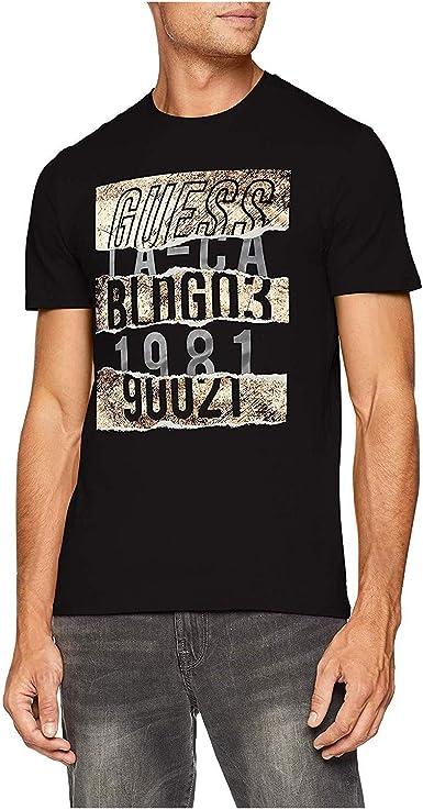Guess Camiseta de Tirantes para Hombre: Amazon.es: Ropa y accesorios