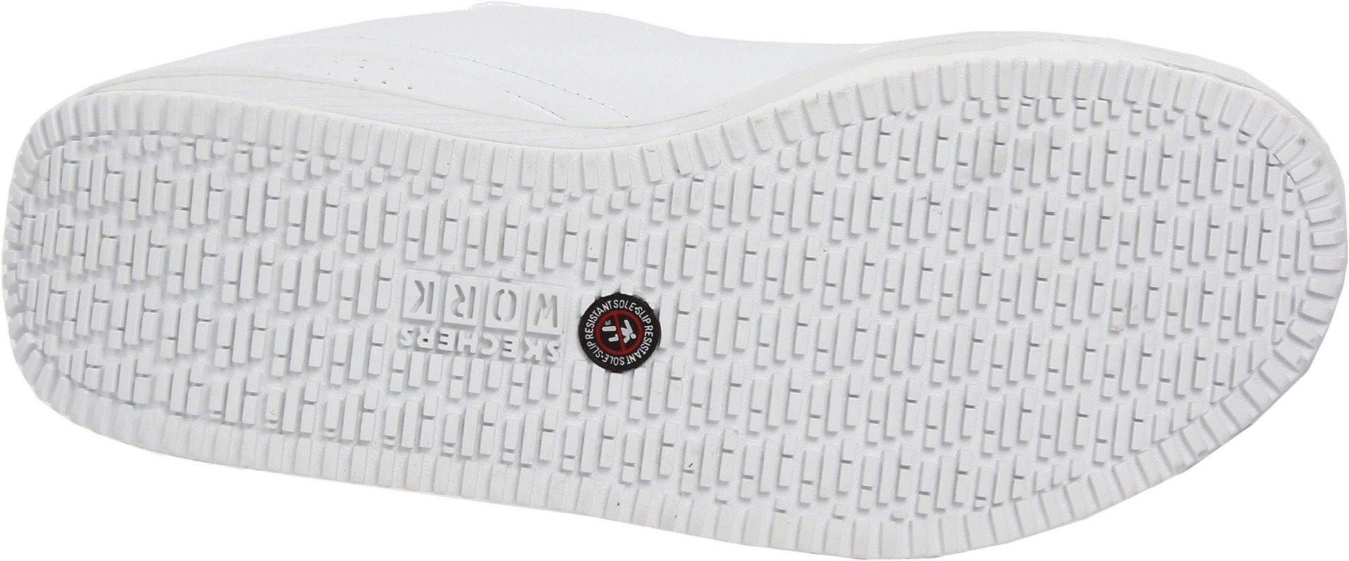 Skechers for Work Women's Shape Ups Slip Resistant Sneaker,White,10 M US by Skechers (Image #3)