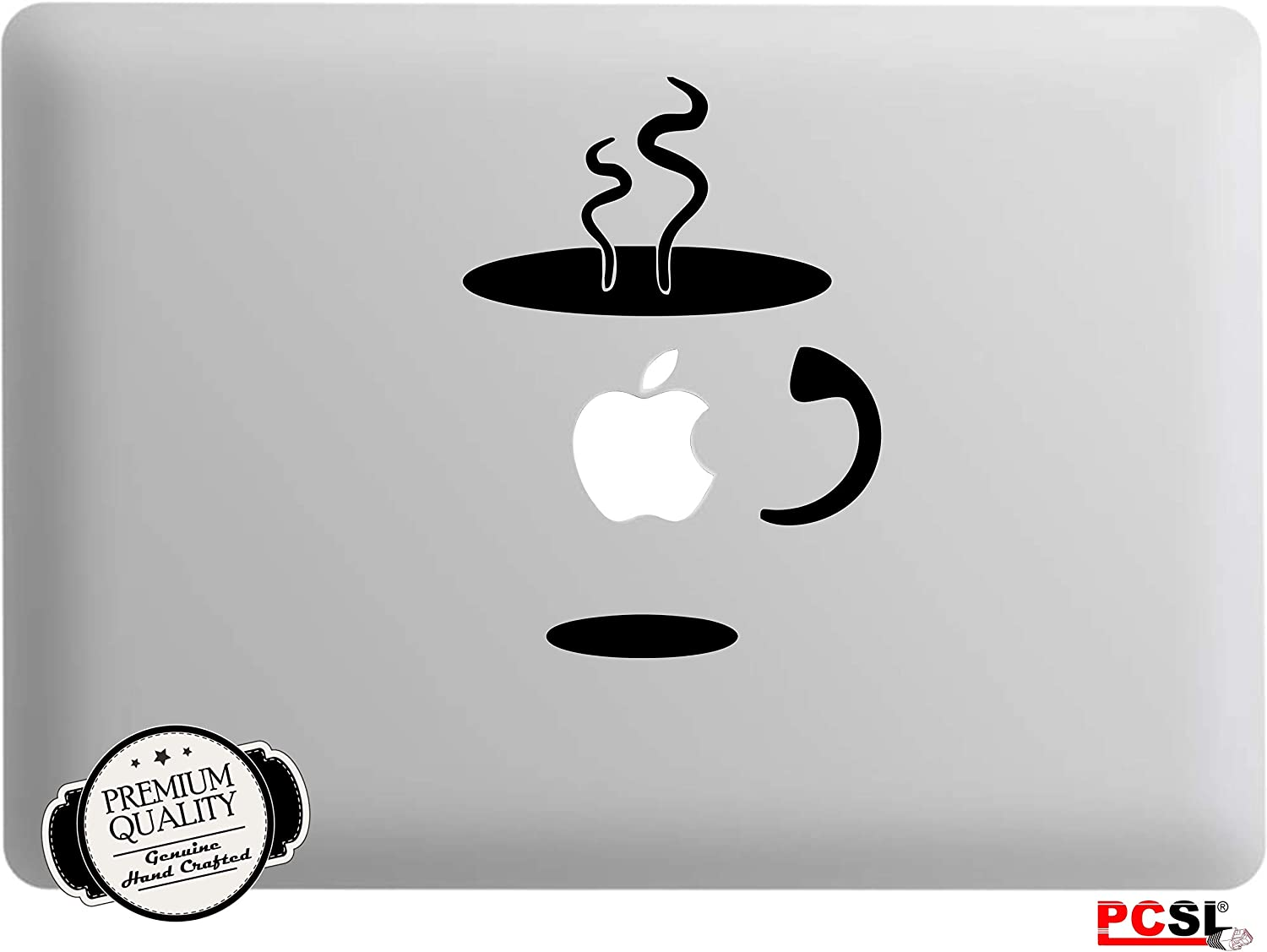Ideal for Apple Macbook Pro Air Mac//Unibody and Other Notebooks Premium Quality Vinyl Decal Skin Design Art Sticker 002 - Homer Simpson