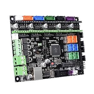 BIQU MKS Gen L V1.0 3D Printer IntegratedMotherboard Controller PCB Board A4988/DRV8825/TMC2208/TMC2130 Like Ramps 1.6 MKS Gen V1.4 Mainboard