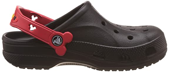 2e9f4d6ad533 crocs Kids Unisex Baya Mickey Black Clogs and Mules  Buy Online at Low  Prices in India - Amazon.in