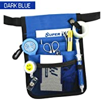 Nurse Pouch Extra Pocket Quick Pick Vet Agecare Bag with Belt Strap
