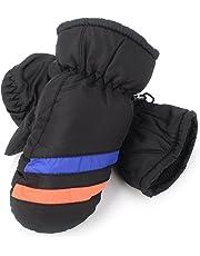 Flammi Kids Winter Ski Mittens Water Resistant Fleece-lined Mittens