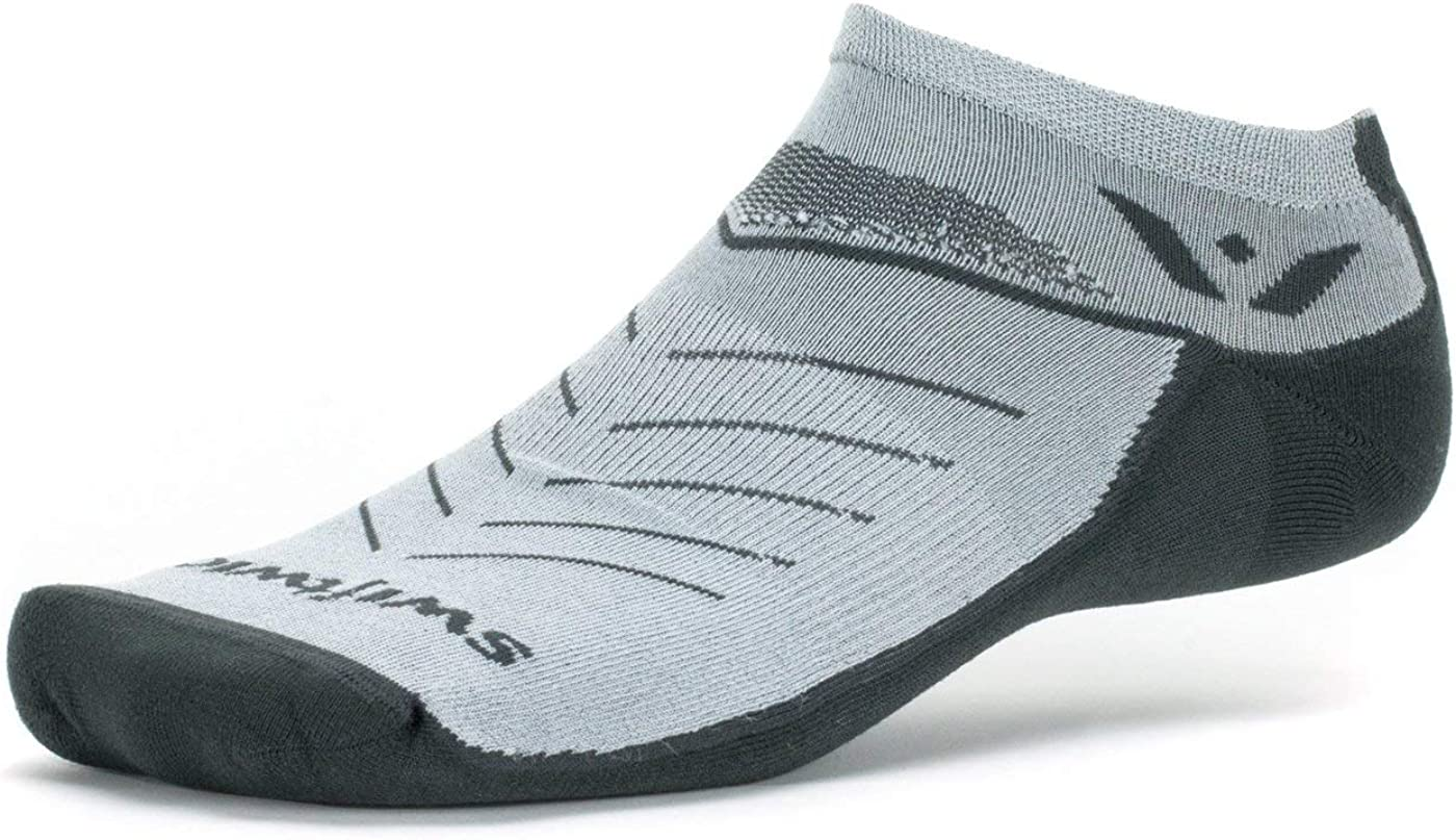 Swiftwick- VIBE ZERO Trail and Road Running Socks, No-Show