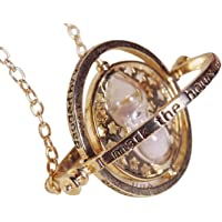 H & H UK™ Time Turner Pendant Necklace in Velvet Gift Bag