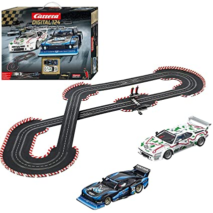 Carrera 20023626 Digital 124 Young Timer Showdown Slot Car Racing System Set - Includes Ford Capri