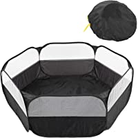 Breathable Mesh Dog Playpen, Cloth Foldable Cat Playpen, Hamster for Pet Tent Pet Cage Tent