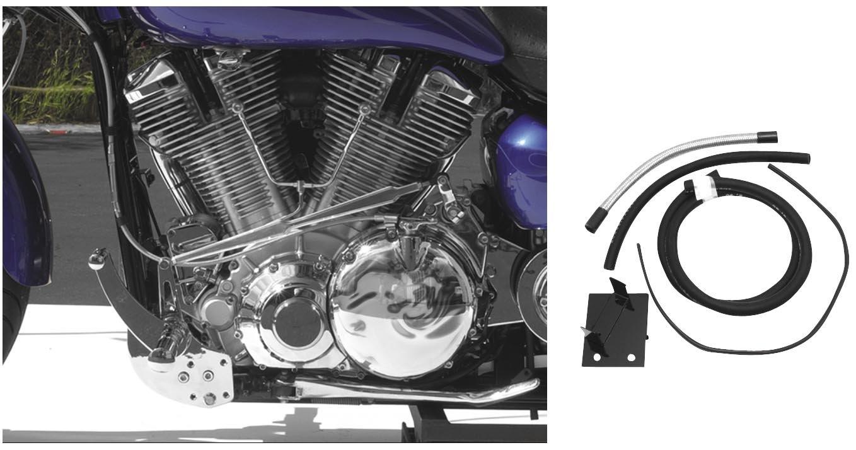04-07 YAMAHA XV17A: Baron Custom Accessories Fuel Pump Relocation Kit