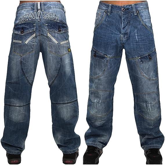 Peviani jeans, coated g blue combat , star wax hip hop urban