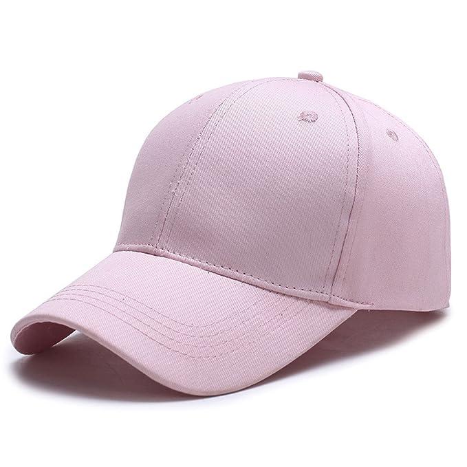 Gorra de béisbol de Verano para Mujer Marca de Moda para Hombre Calle Hip Hop Gorras Ajustables de Gamuza Sombreros para Hombre Negro Blanco Gorras: ...
