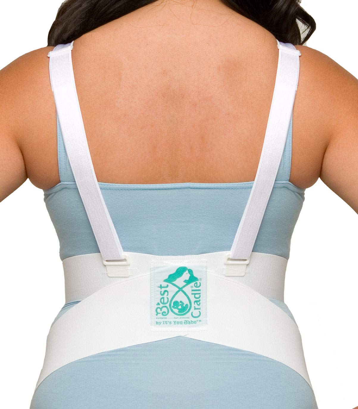 It's You Babe Best Cradle | Medical Grade Belly Band for Pregnancy Support & Pain Relief | Maternity Support Belt | Reimbursable FSA/HSA | Award Winning Pregnancy Belt, Medium by It's You Babe (Image #1)