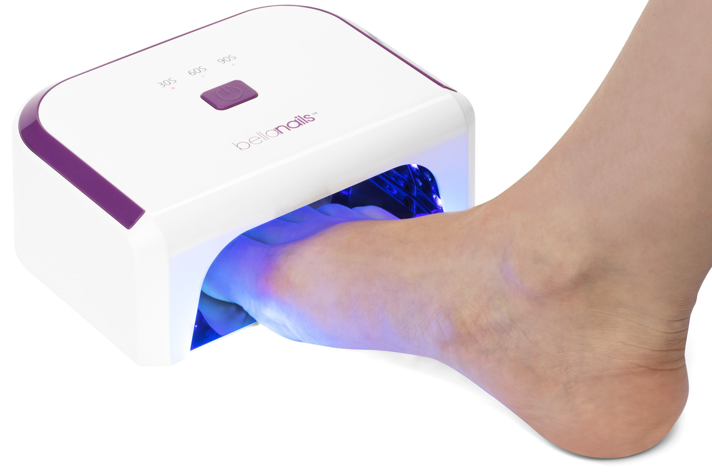 BellaNails Professional 21W LED Nail Lamp, Removable Base Tray, Auto On/Off Sensor, Works With All Gel Nail Polishes by BELLANAILS (Image #8)