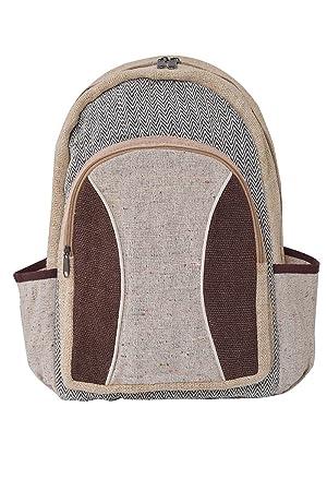 virblatt - mochila alternativa hecha de cáñamo para hombres y mujeres como ropa alternativa - Freiheitsdrang: Amazon.es: Equipaje