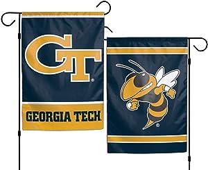 WinCraft NCAA Georgia Tech University 12x18 Inch 2-Sided Outdoor Garden Flag Banner