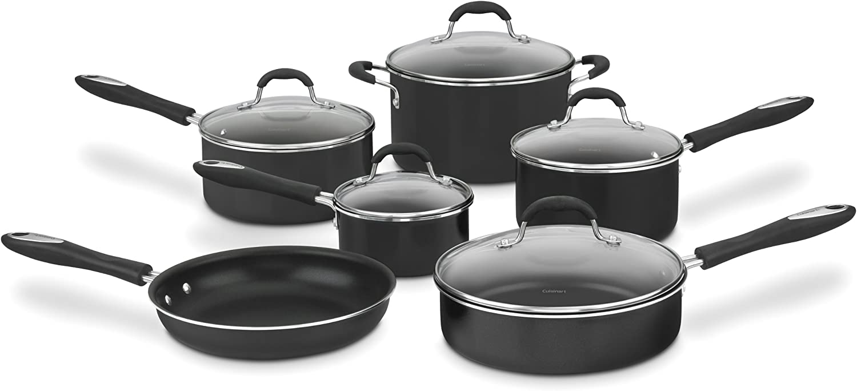 "Cuisinart Advantage Nonstick 11 Piece Cookware set. Healthy Cookware: ""5 Tips on Cuisinart Pots & Pans"""