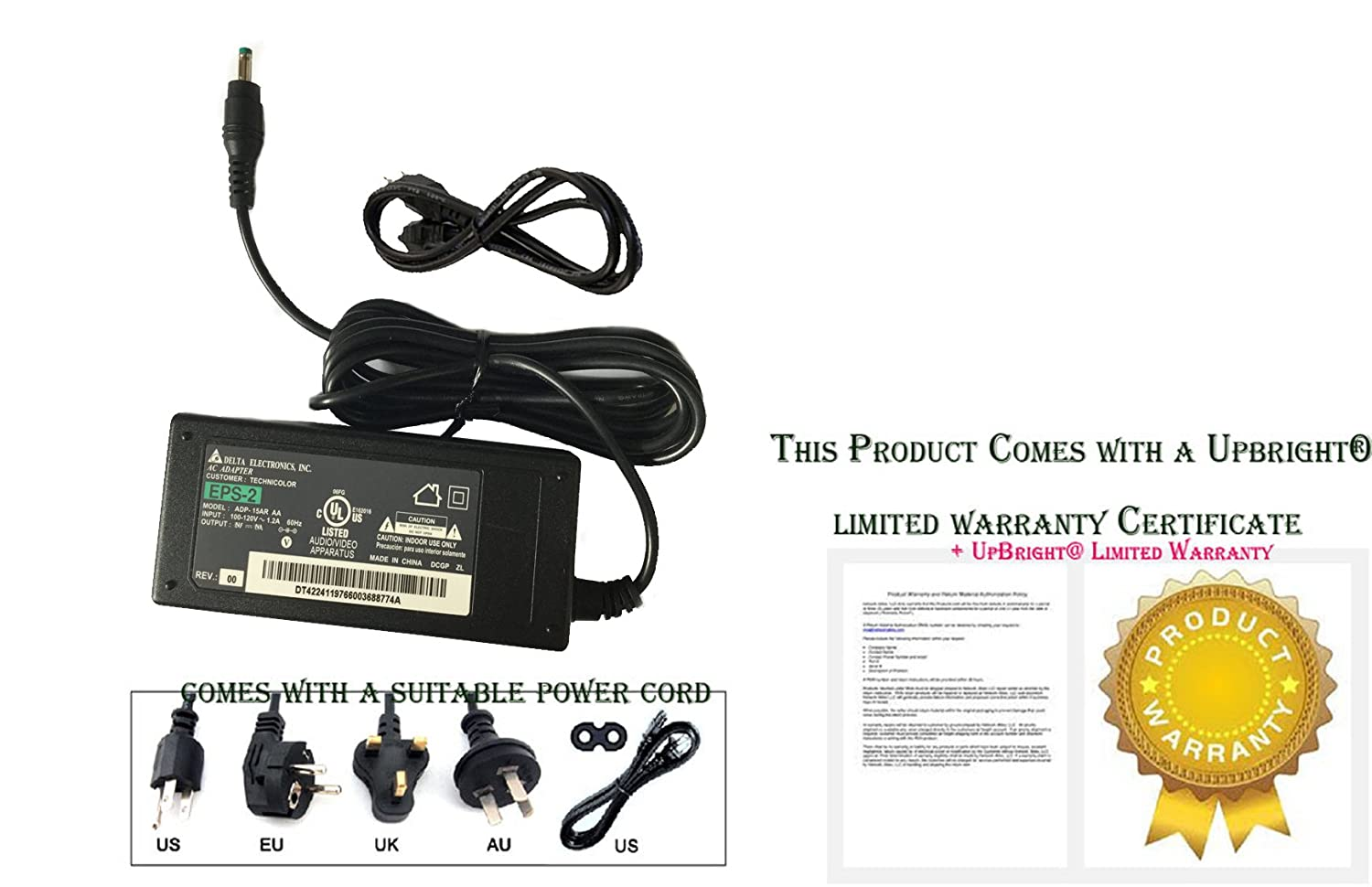 Amazon.com: 2wire Ac Adapter Model Acws011c-05u: Industrial & Scientific