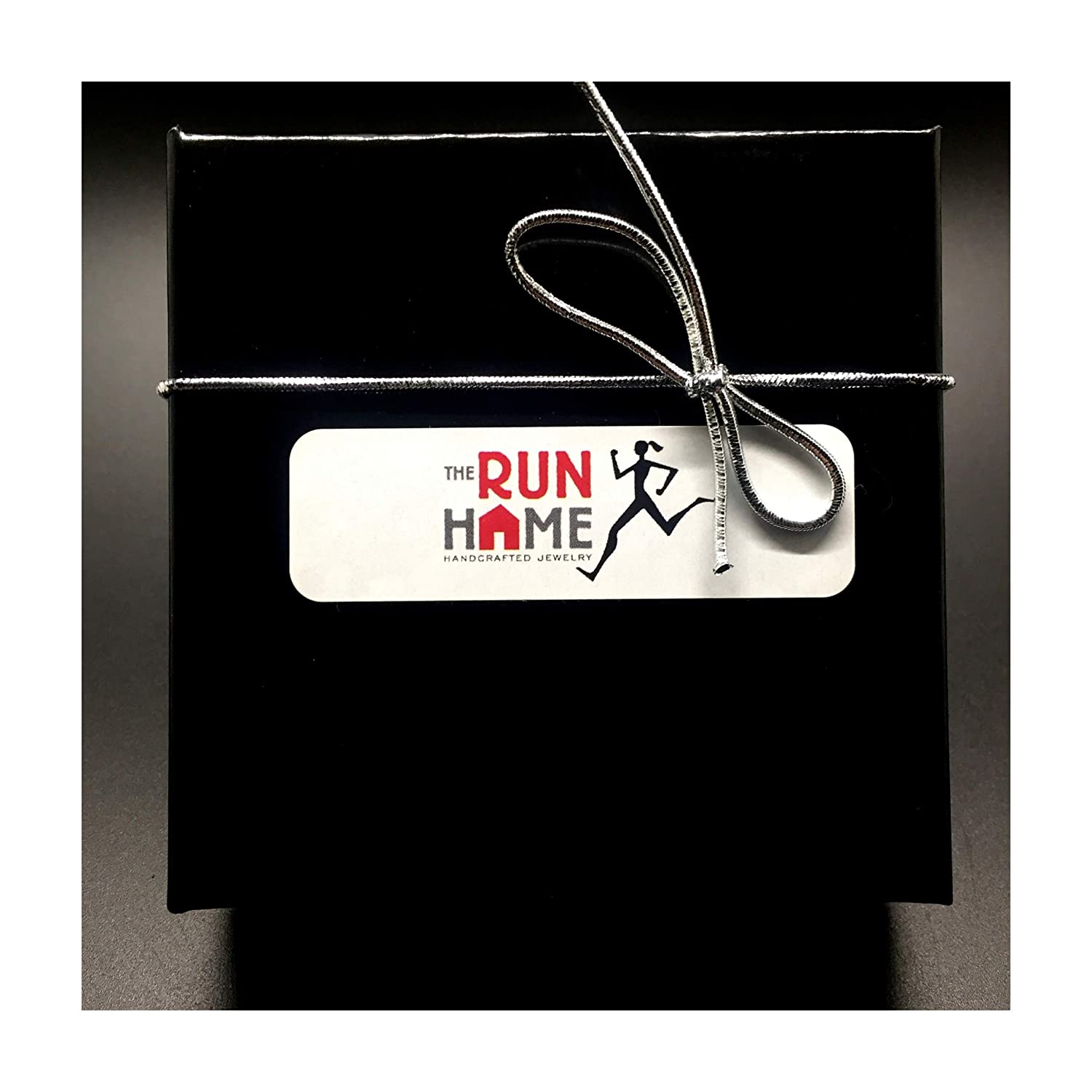 Running with Wings Key Chain 2 Pewter Wing Charms and 1 Pewter Running Shoe Charm with Stainless Steel Split Rings Charm on Stainless Steel Round Key Ring
