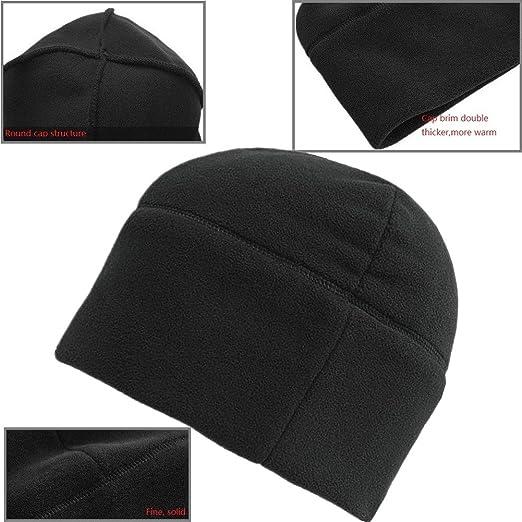 0b901bd7339e2 Amazon.com  Wild Tribe Resistant Men s Polartec Fleece Watch Cap  Clothing