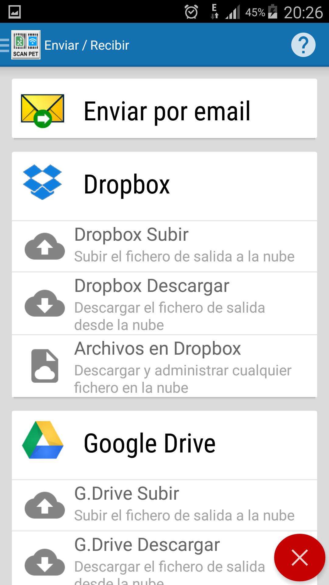 Codigo amazon app