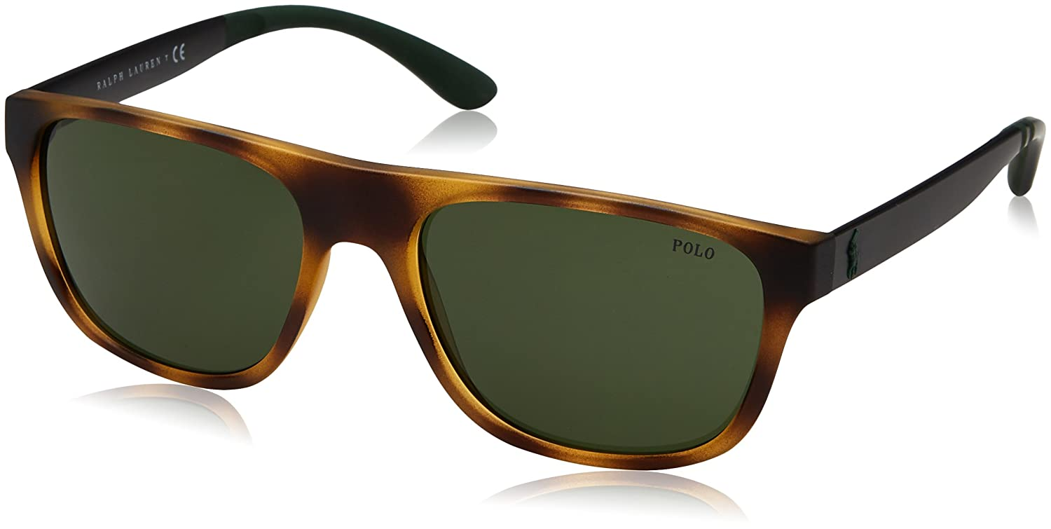 Ralph Lauren Polo 0PH4131 Gafas de sol, Rectangulares, 57 ...