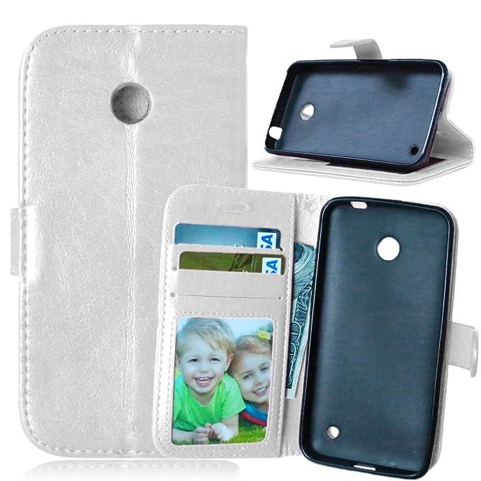 7 opinioni per FUBAODA Lumia 630 Caseflex Cover + Cavo gratuito, PU Pelle, Supporto Stand e