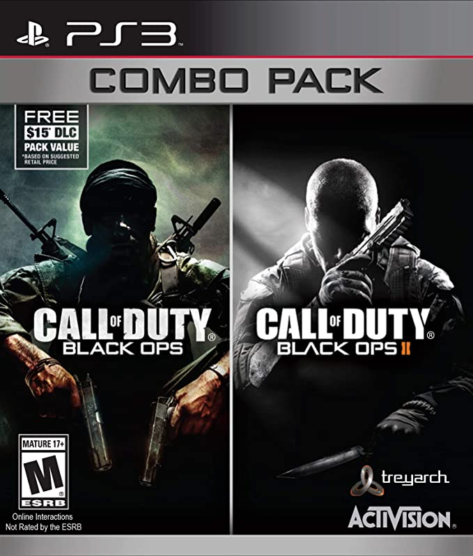 Call of Duty: Black Ops 1 & 2 Combo (PS3) PlayStation 3 Games at amazon
