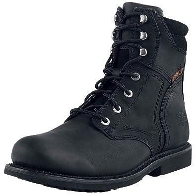 a2f8b1646e2 Harley Davidson Darnel Boots Black  Amazon.co.uk  Shoes   Bags