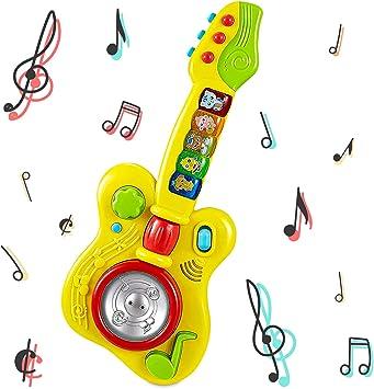 Think Gizmos Juguetes de Aprendizaje Musical para niños pequeños (Guitarra Musical): Amazon.es: Juguetes y juegos