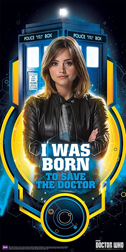 Amazon com: Doctor Who Clara Oswald Born to Save the Doctor