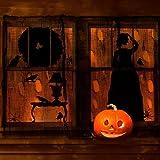"Prextex Spooky Halloween Creepy Cloth Decoration- 5 Yards X 40"" Black Halloween Creepy Cloth"