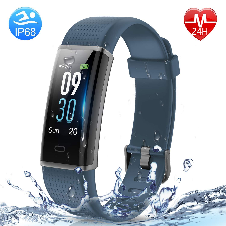Holyhigh Waterproof Smart Fitness Tracker Band Health Watch