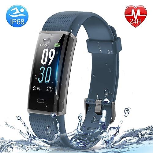 5. HolyHigh Smart Waterproof Fitness Tracker