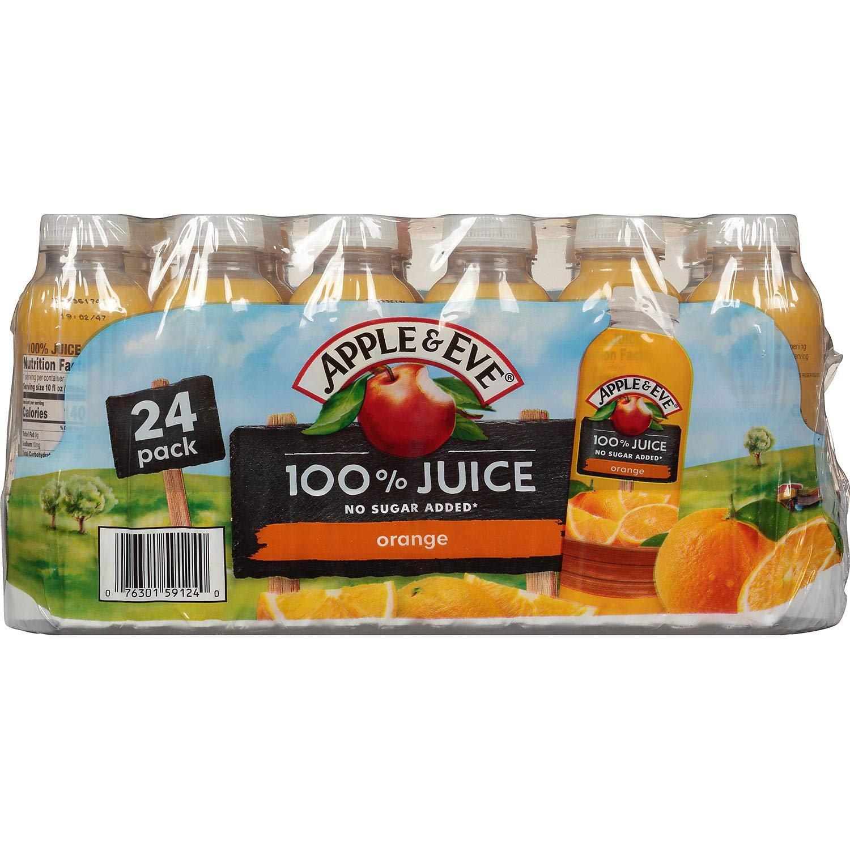 Apple & EVE Apple & Eve 100% Orange Juice 24 Pack 10 FL Ounce Net Wt 240 Fl Ounce , 240 Fl Ounce