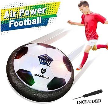 Air Power Soccer Disc - Maxesla Hover Football con Parachoques de ...