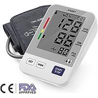 Hylogy Tensiómetro de Brazo Memoria (2 * 90) Certifica FDA CE (Blanco)